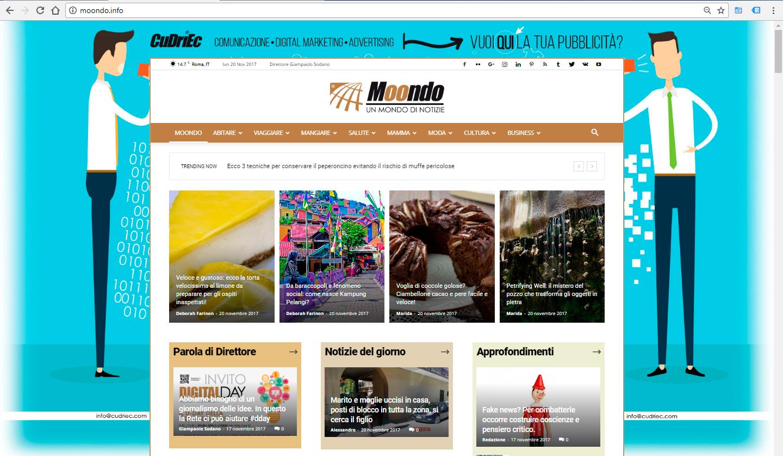 Moondo.info screenshot